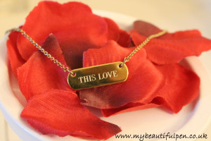 This Love Bespoke Necklace